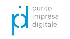 logo con acronimo del punto impresa digitale
